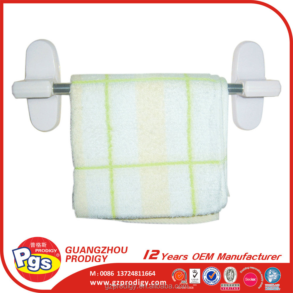 plastic bathroom adhesive towel bar