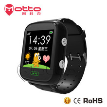 Good quality GPS tracker touch screen sos calling wifi android kids smart mobile watch phone