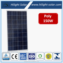 A grade high efficiency cheap price 150w-250w poly solar panel for solar power system and panel solar, solar pv module with TUV
