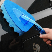 Triangle Thickened EVA Cleaning Sponge Car Wash Sponge with Handle Car Wash Foam Brush