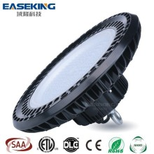 Factory Warehouse Industrial Meanwell driver dimmable 150w Round Ufo Led High Bay Light with 5 years warranty