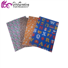 polyester fabric printed color felt with various design