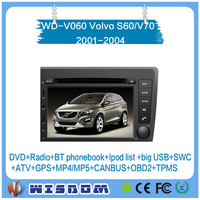 volvo v70 touch screen car dvd player 2001 2002 2003 2004 car gps with bluetooth&gps navigation tracking system support swc wifi