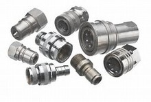 Lead Free Hydraulic Quick Release Push and Pull Couplings Couplers Connecters