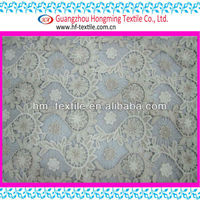 Sunflower cotton lace chemical lace fabric for fashion garment