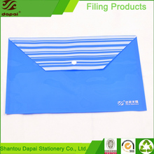 High Quality Plastic A4 Size File Folder Document Bag Envelop
