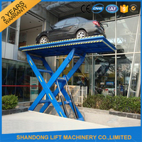 Hydraulic lifter machine Hydraulic Car lifter with CE