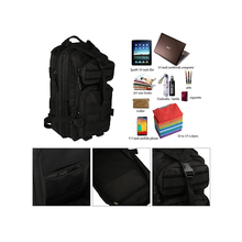 1BP0182 Wholesale High End Laptop Bags Black Cordura Backpack