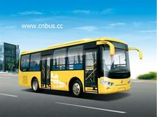 7.7m CNG natural gas engine city bus
