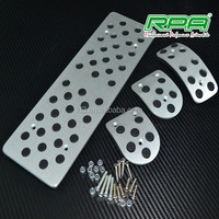 Aluminum auto car accessories foot pedal for Volkswagen Polo