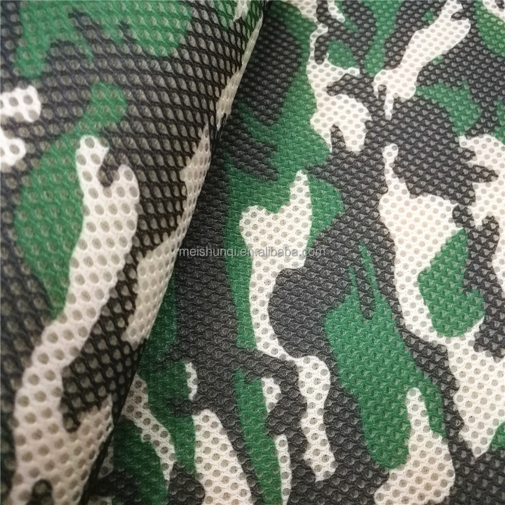 camouflage mesh fabric of sandwich mesh