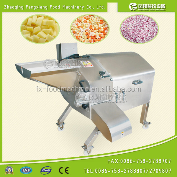 CD-1500 large vegetable fruit cubing machine, vegetable fruit cuber, large vegetable fruit cutter