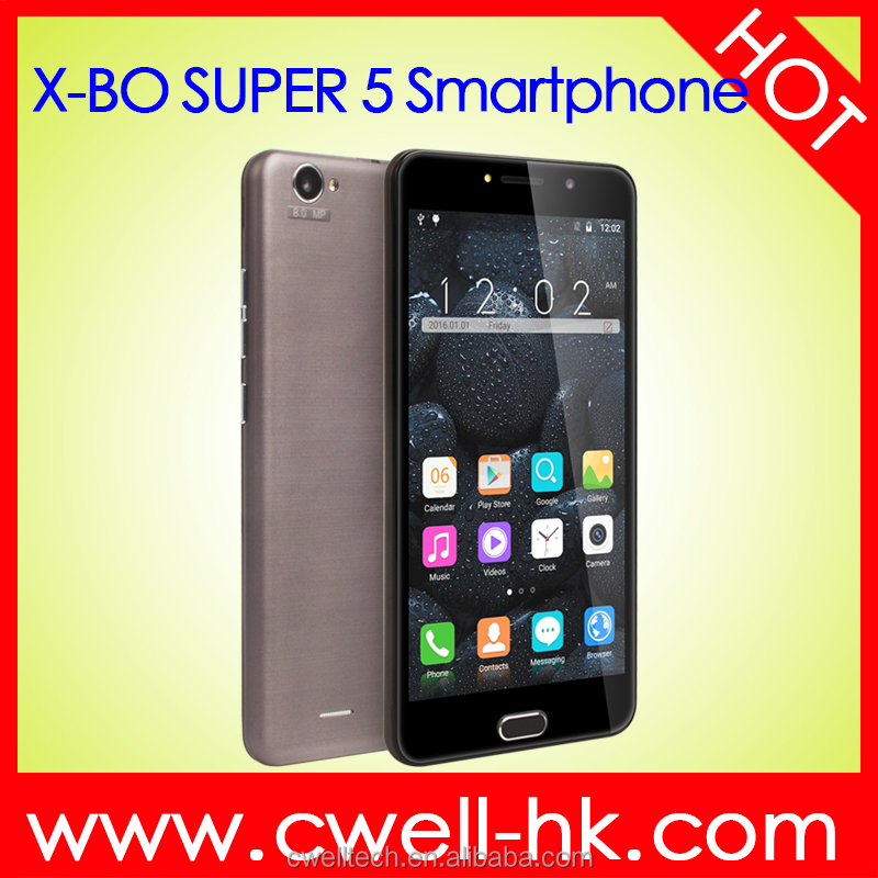 X-BO Super 5 MTK6580 Quad Core Good Price 6 inch screen unlocked smartphone