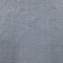 Soft confortable 100% cotton garment fabric with double face stripe twill jacquard fabric