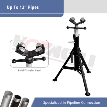 1107B pipe stand with four head