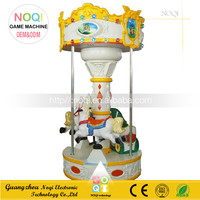 NQK-D02 2016 small carousel for sale carousel rides amusement park equipment kids coin operated game machine kiddie for sales