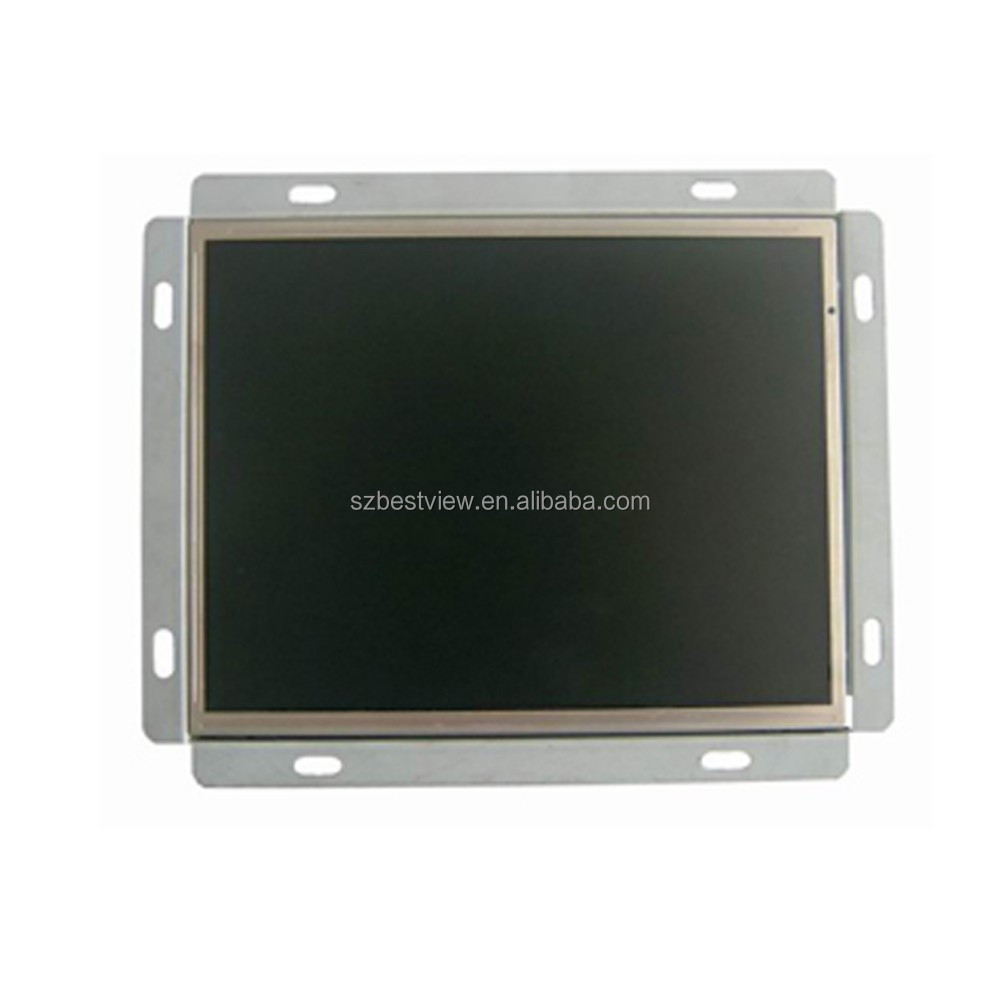 Factory OEM industrial 8 inch open frame LCD monitor with DC 12v input