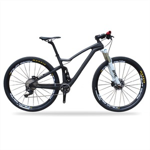 Newest Areo Suspension T700 Carbon Fibre Mountain Bike Carbon 29er MTB Bike
