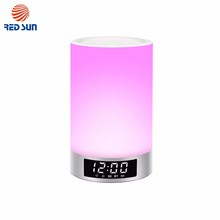New Products DC5V 1000mA RGB Color Changing Bluetooth Speaker Table Lamp