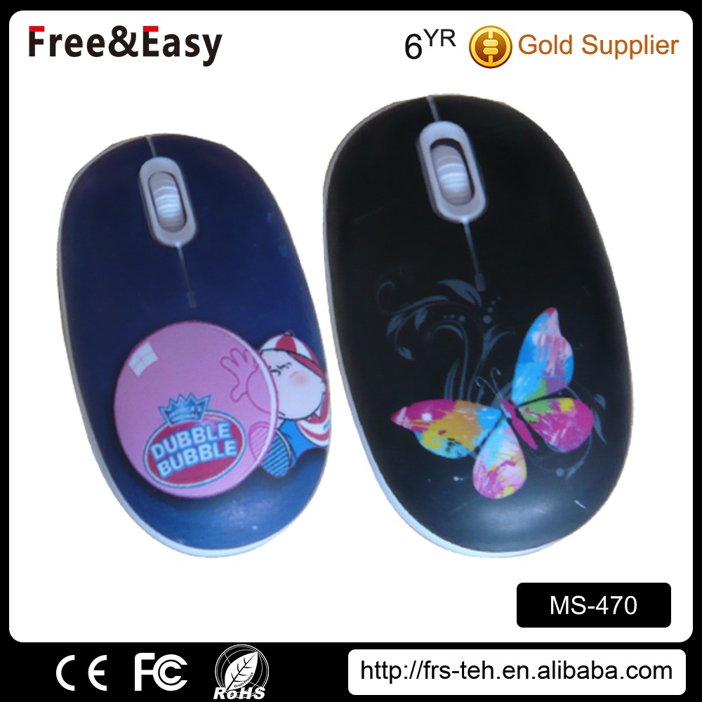 wired mouse multicolor lovely gift mouse for Christmas