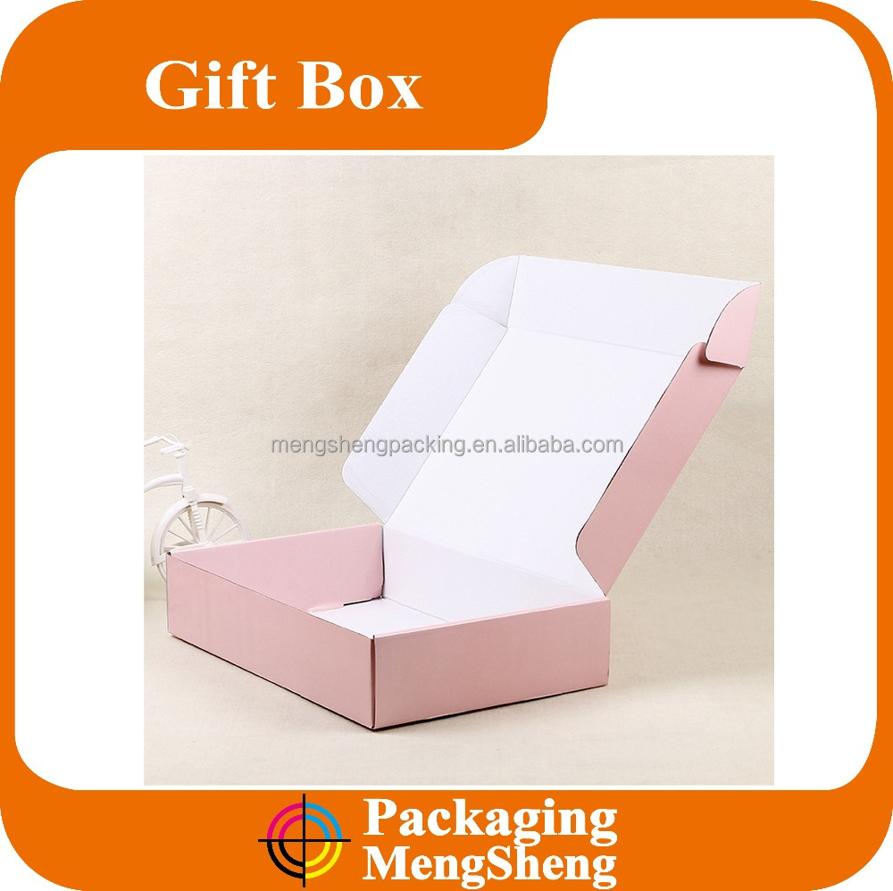 Cardboard mailer box <strong>Custom</strong> Printing Unique Corrugated Color Mailer Shipping Boxes