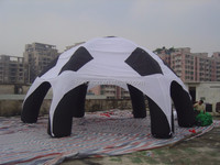customized inflatable spray booth camping tents inflatable wedding arch.