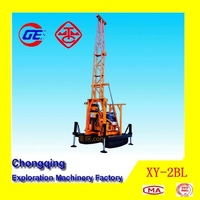 2014 Newly Powerful Multi Function XY-2BL Crawler Mounted Portable Water Well Drilling Rig For Sale