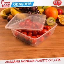 Kitchen experienced Supplies disposable microwave pp food container