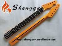 W Shengque Unfinished Ebony Fingerboard Electric Guitar Neck