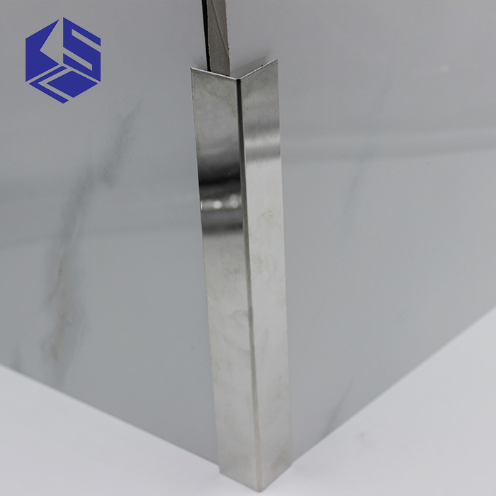 UK DIY wall protective stainless steel drywall outside wall corner bead