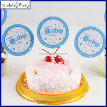 hot selling 2015 unique paper birthday cupcake toppers