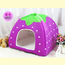 Soft Sponge Strawberry Pet Dog Cat Houses Lovely Warm Pet Bed