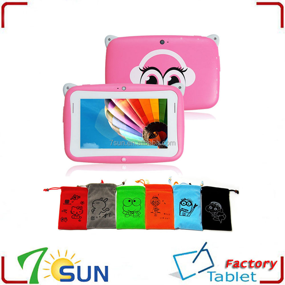 4.3 inch Kids Tablet PC with Android 4.2 1GHz 512MB RAM 4GB ROM Dual Cameras digital drawing tablet for kids