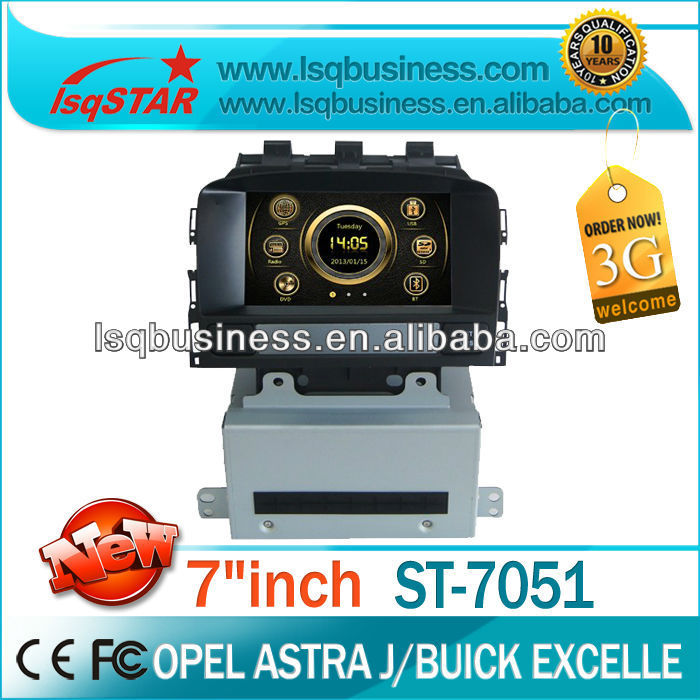 LSQstar high quality auto central multimedia for opel astra J with dvd/bluetooth/TV/ipod on-sale!hot!drive your life!