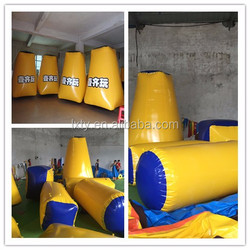 inflatable paintball obstacle paintball filed, inflatable paintball bunkers,tactical giant paintball fields