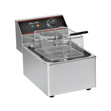 Stainless steel kfc chicken and potato frying machine for fries