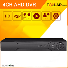 4channel cctv AHD video recorder Three in One hybird dvr for ahd camera ip camera analog camera