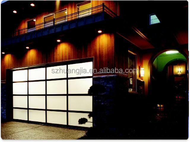electric garage door screens
