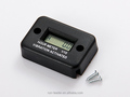 RL-HM016 Digital LCD Waterproof Vibration Activated Hour Meter Used For Motorcycle,Machine,ATV,Pit Bike