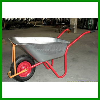 200kg capacity metal power aluminium alloy wheelbarrow concrete buggy pushchair trolley barrow cart pneumatic rubber wheel