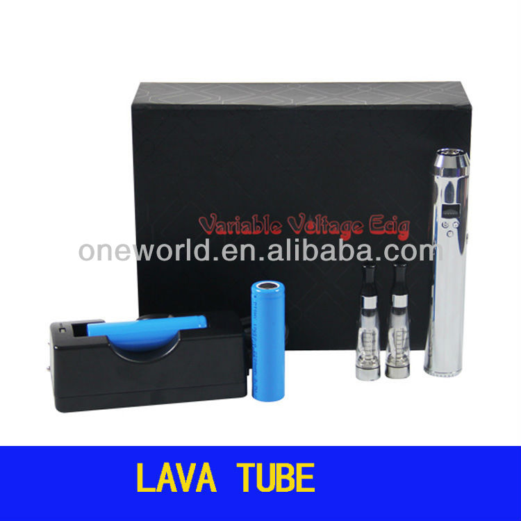 lava tube mod e cigarette 510/eGo connector starter kit compatible with CE4 2ml atomizer