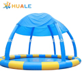 2018 giant inflatable pools wholesale/inflatable pool with tent