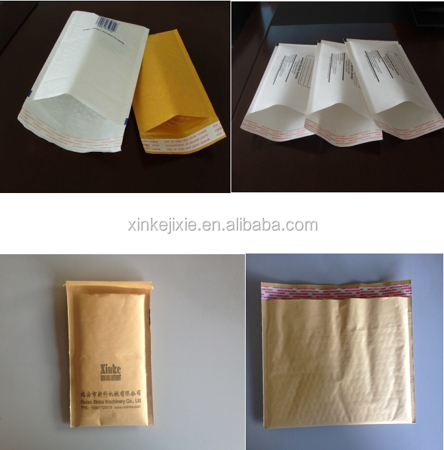 Kraft Paper Bubble Film Envelope Bag Making Machine