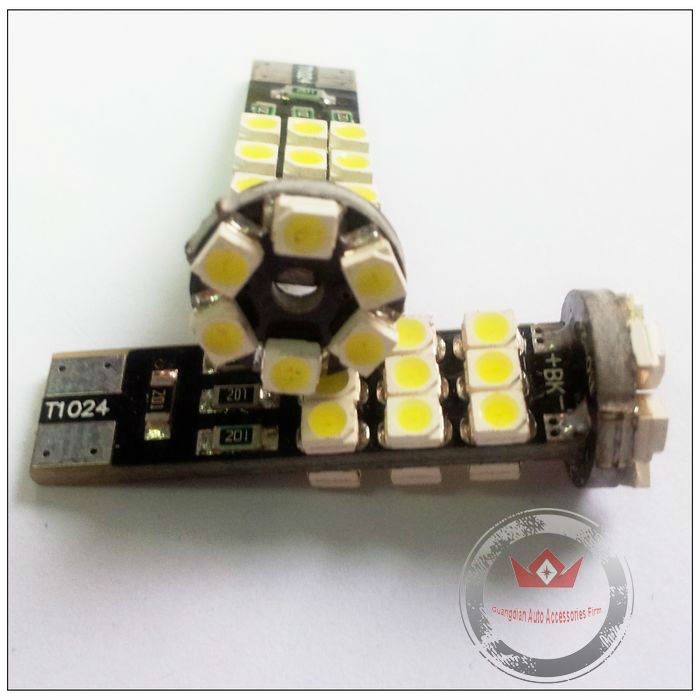 1210 24SMD Canbus Led W5W T10 194 Lamp,Best W5W T10 Canbus Led,Auto Led Bulb T10 SMD 1210 Auto Led