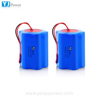 Rechargeable 12v 4400mah 18650 lithium ion battery pack