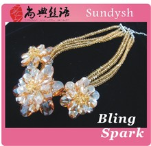 sexy women hanging bead diamond clothing garment wedding avenue jewelry crystal accessories