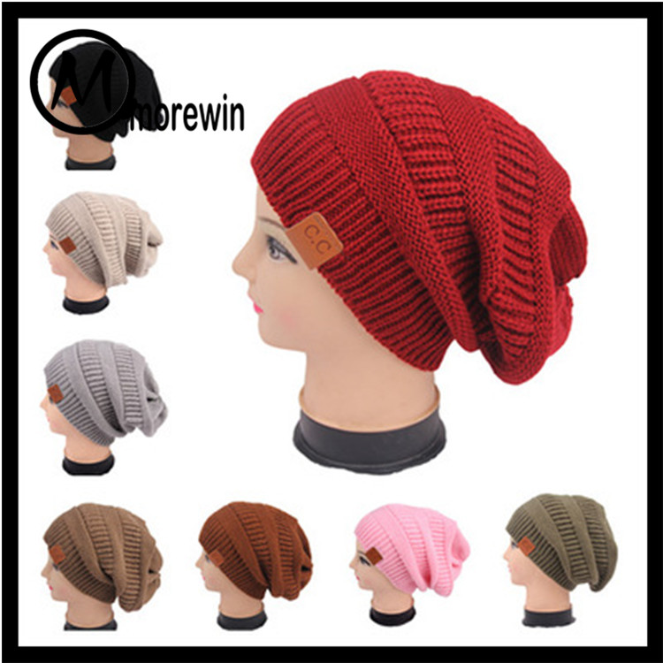 Morewin Factory Hot Sell Custom CC Beanie Hat And Cap Warm Winter Hat Wholesale Women
