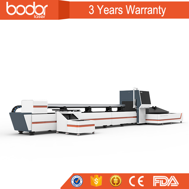 bodor fiber laser pipes cutting machine metal sheet cutting machine with Swiss design and 3 years warranty