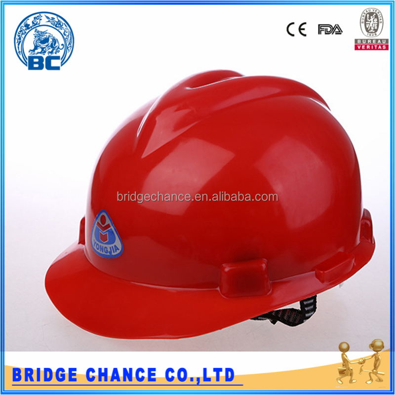 High Densit Custom Head ProtectionComfort Protective Hat Safety Helmet For Construction Area