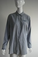 Fashion ladies garment wash denim shirt